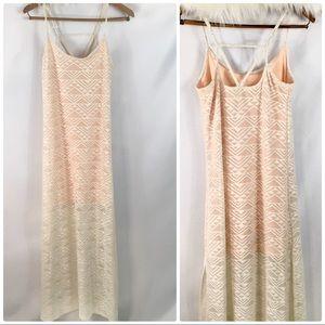 🎇 Love Fire Maxi Dress   Size Large